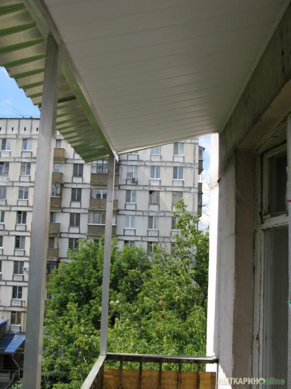 Козырек на балкон.