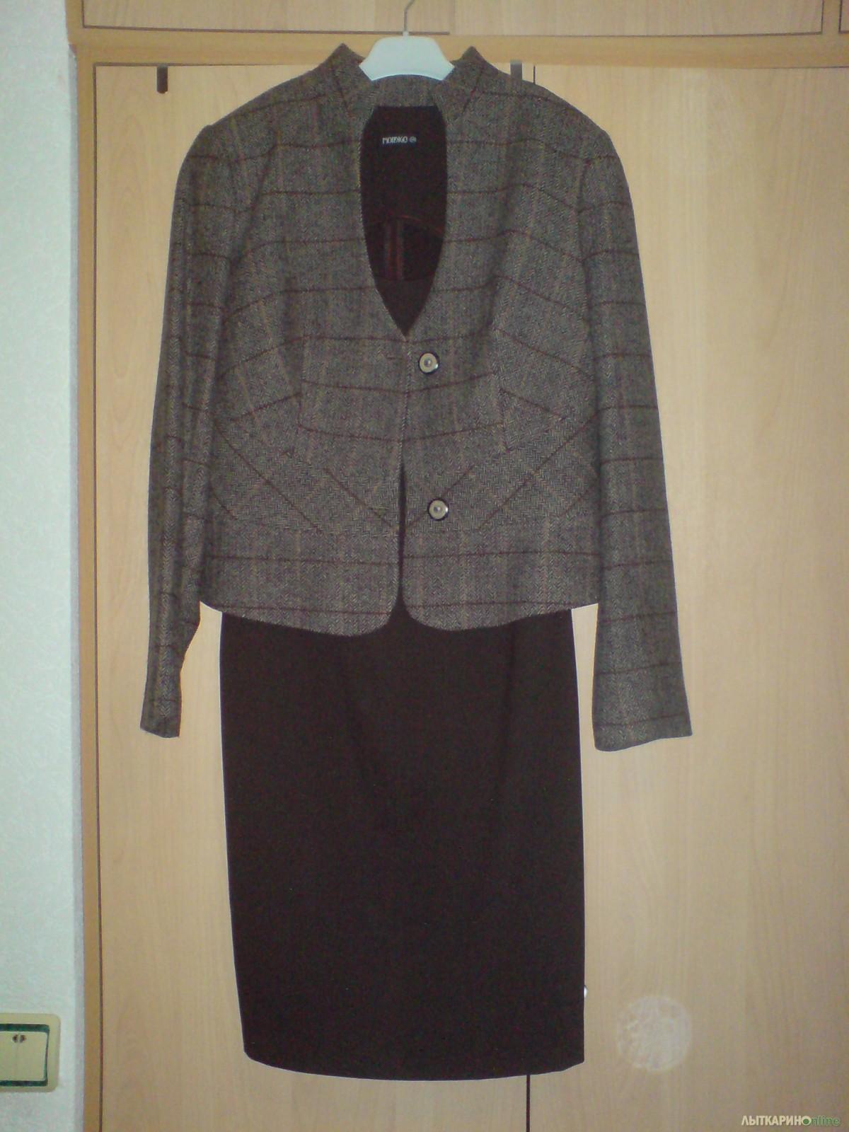 c7946044525 офисный стиль  платье-футляр+жакетр.44-46 165-174   Одежда женская ...