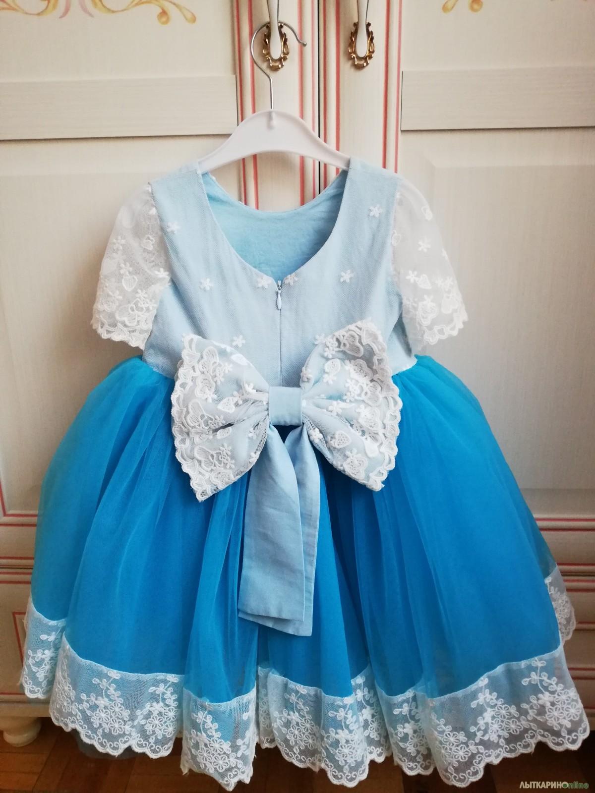 94b29b1a8df Праздничное детское платье   Одежда   Все объявления города Лыткарино